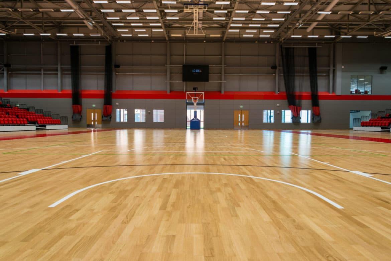 Essex Sport Arena floor